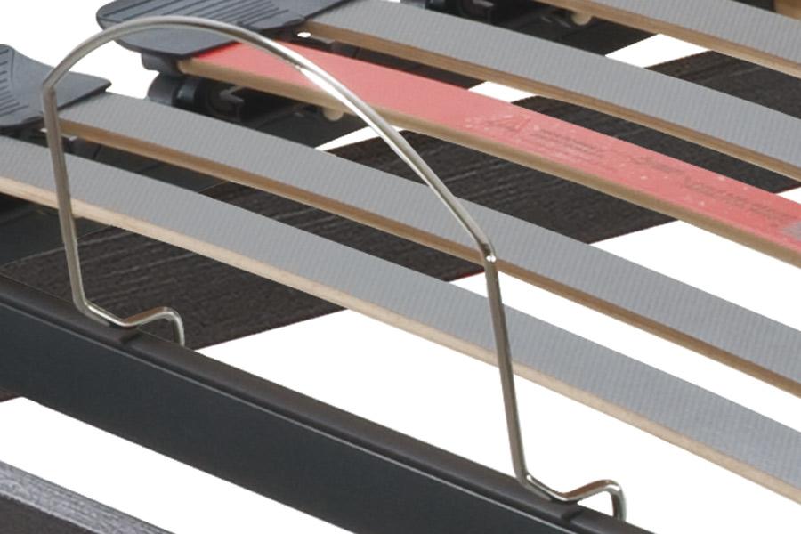 Matratzen-Haltebügel für die Liegefläche