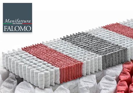 Manifattura Falomo: Made In Italy Federkernmatratzen.