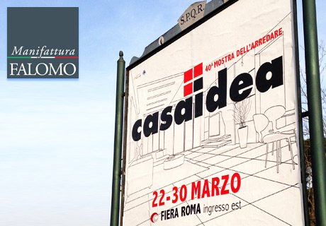 Falomo an der Casaidea Ausstellung in Rom!