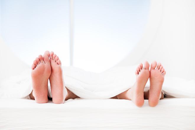 Auf welcher Bettseite schlafen Sie?