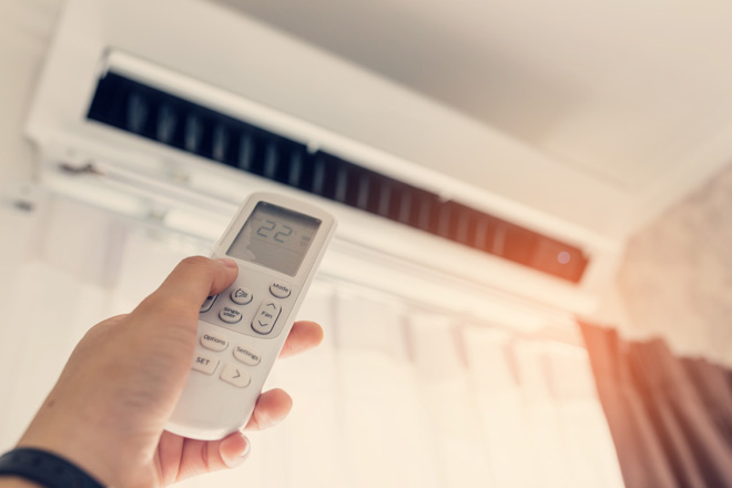5 Grundregeln, wenn man eine Klimaanlage im Schlafzimmer hat