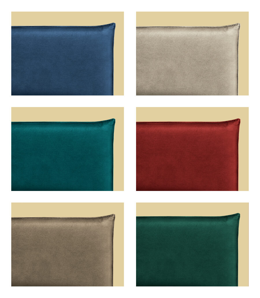 Ego 21 headboard available in various colors