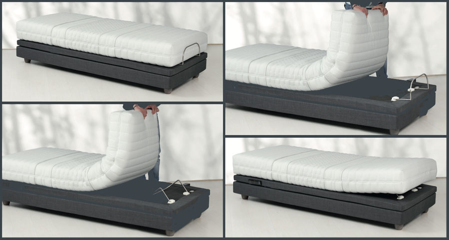 Motorisiertes Bett Hi_motion Stellungen