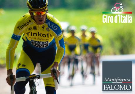 "Manifattura Falomo beginnt den Giro d'Italia des ""gesunden Schlafs""!"