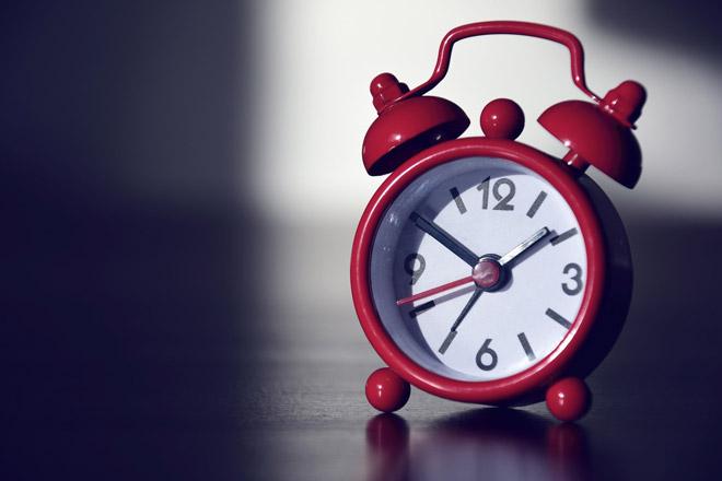 Keine tickenden Uhren im Schlafzimmer!