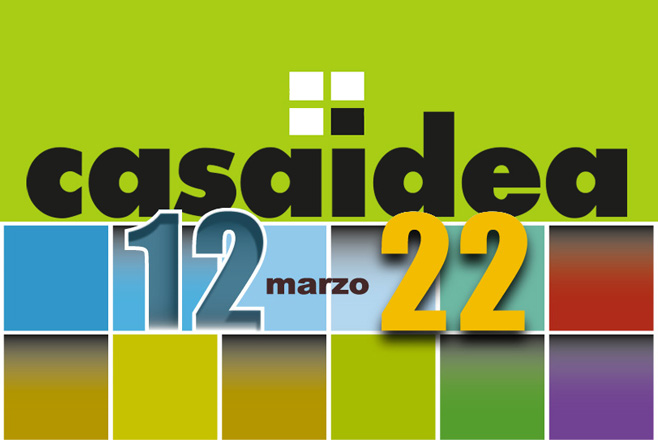 Falomo auf der Casaidea 2016 vom 12. bis 22. März in Rom: wir freuen uns auf Ihren Besuch!