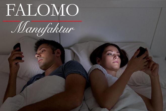 Smartphones: die modernen Feinde des Schlafes