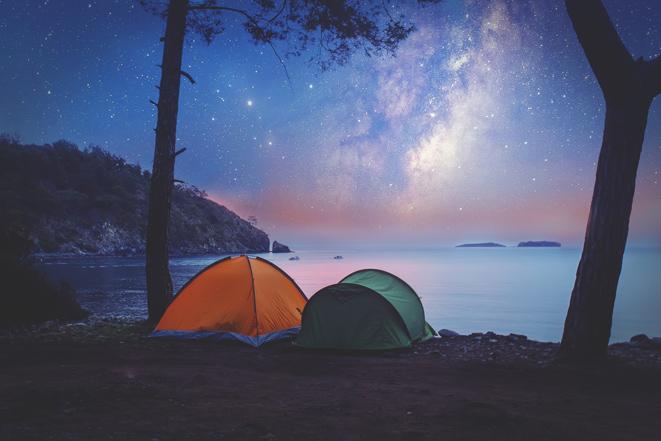 Pläne für den Sommer? Versuchen Sie es mit Camping, um den perfekten Schlaf wiederzufinden