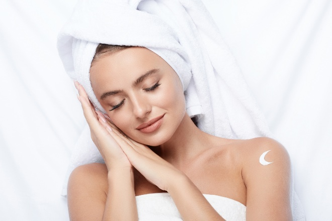 Was geschieht mit der Haut während man schläft?
