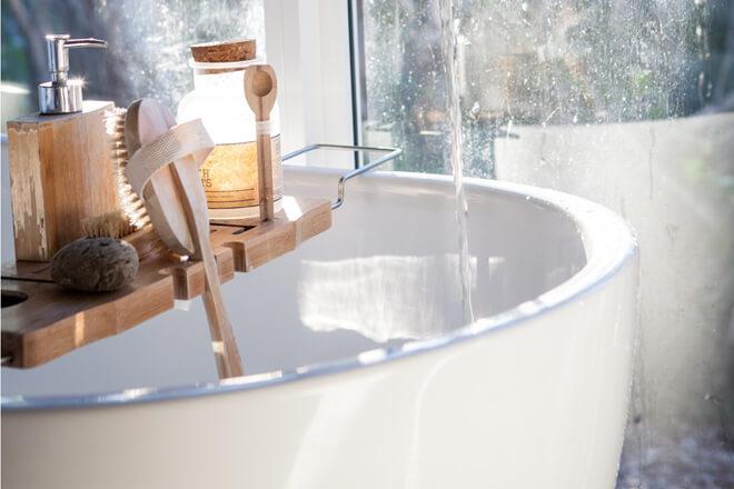 Zirbelkiefer in der Badewanne