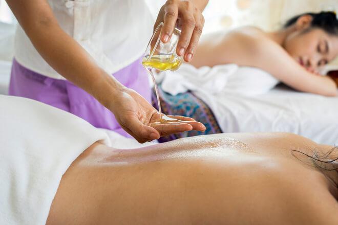 Zirbelkiefer zur Körperpflege